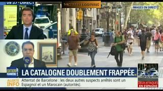 EDITION SPECIALE double attentat en Catalogne/ Double attack in spain