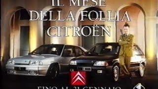 Pubblicità anni '90 - Citroen