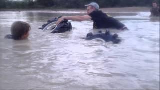 Honda Fourtrax 300 DEEP Snorkeling goes bad!