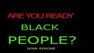 Are you ready BLACK PEOPLE