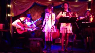 Jenny Finn Orchestra performs Ain't She Sweet at the Can Can Cabaret in Seattle