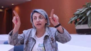 Fernanda Tapia en entrevista