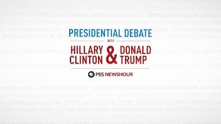 Watch the full first 2016 Presidential Debate | PBS NewsHour