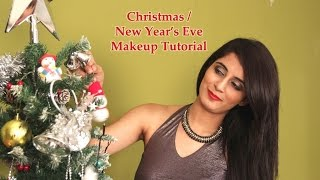 FOMO : Christmas/New Year's Eve Party Makeup Tutorial (Hindi)