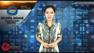 Prairie Downs Metals (ASX:PDZ): ABN Newswire Video Jan 21, 2011