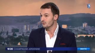 Christophe Michel invité de France 3