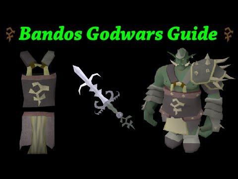 Oldschool Runescape - Bandos GWD Guide | Melee Attacker Guide