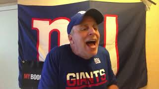MYBookie.ag Presents The NY Giants Pre-Game Locker Room with Vic DiBitetto: Everything is the Same