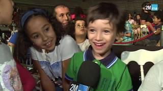 """Les """"Kids United"""" à Casablanca: Un concert survolté et des spectateurs conquis!"""