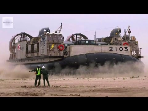 Japan Self-Defense Forces Hovercraft LCAC in