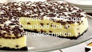 FREE Chocolate Chip Cheesecake Recipe Video + Download