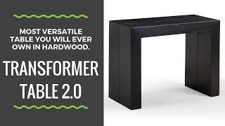Transformer Table 2.0 - Amazing Space Saving Furniture!