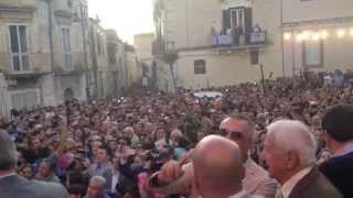 Matera 2019 - Il Momento della Proclamazione nella piazza di Matera