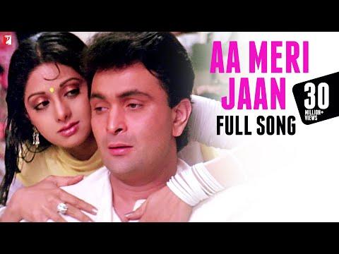 Xxx Mp4 Aa Meri Jaan Full Song Chandni Rishi Kapoor Sridevi Lata Mangeshkar 3gp Sex