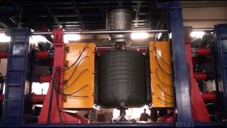 water tanks blow molding machine