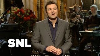 Seth MacFarlane Monologue: The Voices - Saturday Night Live