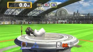 Super Smash Bros. U - Homerun Contest versus (3p: Ness, Yoshi, Ganondorf)
