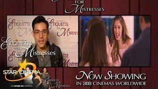 'Etiquette For Mistresses' Now Showing! (Xian Lim, Vhong Navarro, Jason Dy, Kitkat)