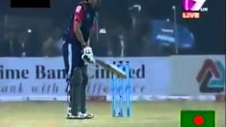 Funny Video of Nasir Hossain in Rangpur Riders BPL match