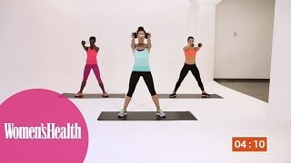Quick Workout: The 5-Minute One-Dumbbell Workout For Total-Body Toning from Women's Health