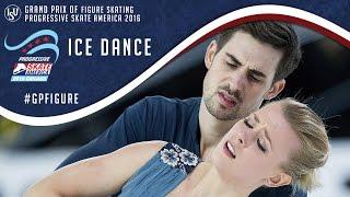 Ice Dance Highlights - Skate America 2016