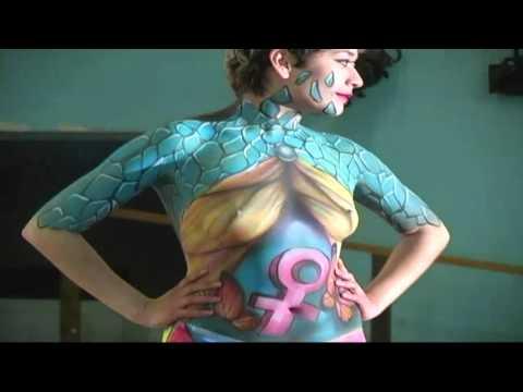 Pasarela Body Paint Xochimilco