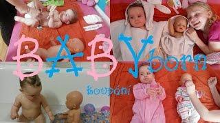 BABY born - koupání | Testování hraček | Máma v Německu