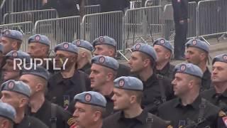 Bosnia and Herzegovina: Republika Srpska celebrates statehood day with street parade