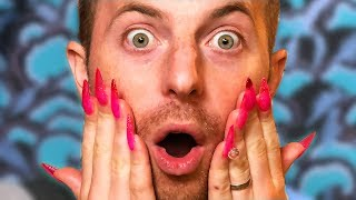 The Try Guys Get Nail Extensions
