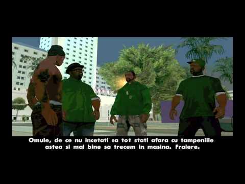 Madalin joaca GTA San Andreas Part 3 Spargem o casa Română HD