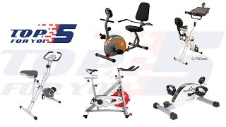 Top 5 Best Exercise Bikes for Home Use 2017 - 2018