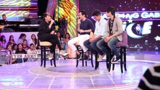James, Slater and Yves talks about their lovelife on GGV