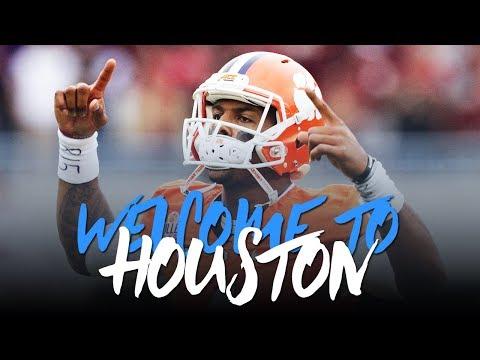 Deshaun Watson 2017; Welcome to Houston Career Highlights ᴴᴰ