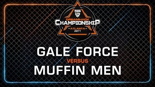 Gale Force vs Muffin Men - Rocket League Championship - DreamHack Atlanta 2017