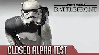 BATTLEFRONT CLOSED ALPHA & LEAKED GAMEPLAY! ► Battlefront News