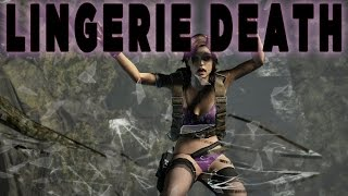[Request #17] Tomb Raider 2013 - Lingerie mod Ryona and Deaths - GoR