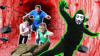 PROJECT ZORGO CAVE TRAP! Finding CLUES to DEFEAT Project Zorgo