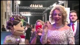 ابلة فاهيتا في دردشة اباحية مع نجوم الوطن العربي في مهرجان دبي السينمائي