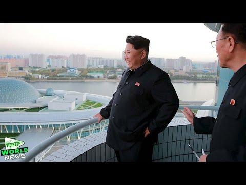 North Korea s Dictator Kim Jong Un Opens Atom Shaped Science Centre