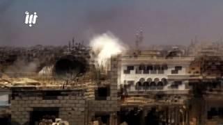 قصف عنيف بصواريخ الفيل على حي طريق السد في مدينة درعا 7 - 6 -2017