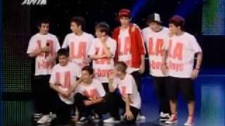 LA BBOYS ( breakers without fear) Ellada exeis Talento Greece Got Talent Show 2010