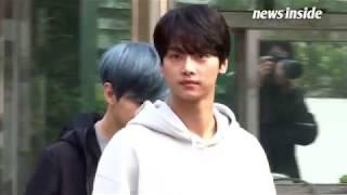 [SSTV]  빅스 엔(VIXX) 남성팬 환호에 훈남 미소 날리는 천사 (뮤직뱅크)