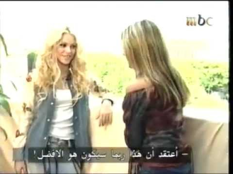 Xxx Mp4 Razan El Moghrabi 1on1 Interview With Shakira 2001 MBC 3gp Sex