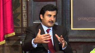 A Conversation with His Highness Sheikh Tamim Bin Hamad Al-Thani, Amir of the State of Qatar