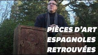 L'Indiana Jones de l'art Arthur Brand a retrouvé deux reliques espagnoles