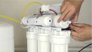 How To Replace Your Reverse Osmosis Filters and Membrane - APEC Water Installation Part 6