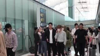 [FANCAM] BTS arrived Thailand, Bangkok The Wings Tour