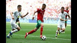 انبهار الاعلام المصري بقوة المنتخب المغربي أمام البرتغال - شكرا اسود الأطلس