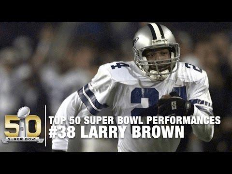 Xxx Mp4 38 Larry Brown Super Bowl XXX Highlights Top 50 Super Bowl Performances 3gp Sex