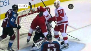 Pavel Datsyuk - Silent Overtime Goal vs Avs April 5 2013 - Avs Feed